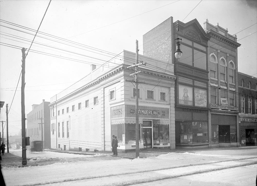 Timberlakes's Drug Store, 1917 photograph by Rufus Holsinger