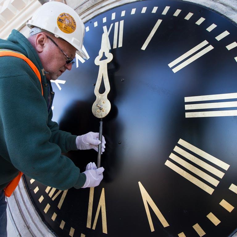 Clocks & Cornice
