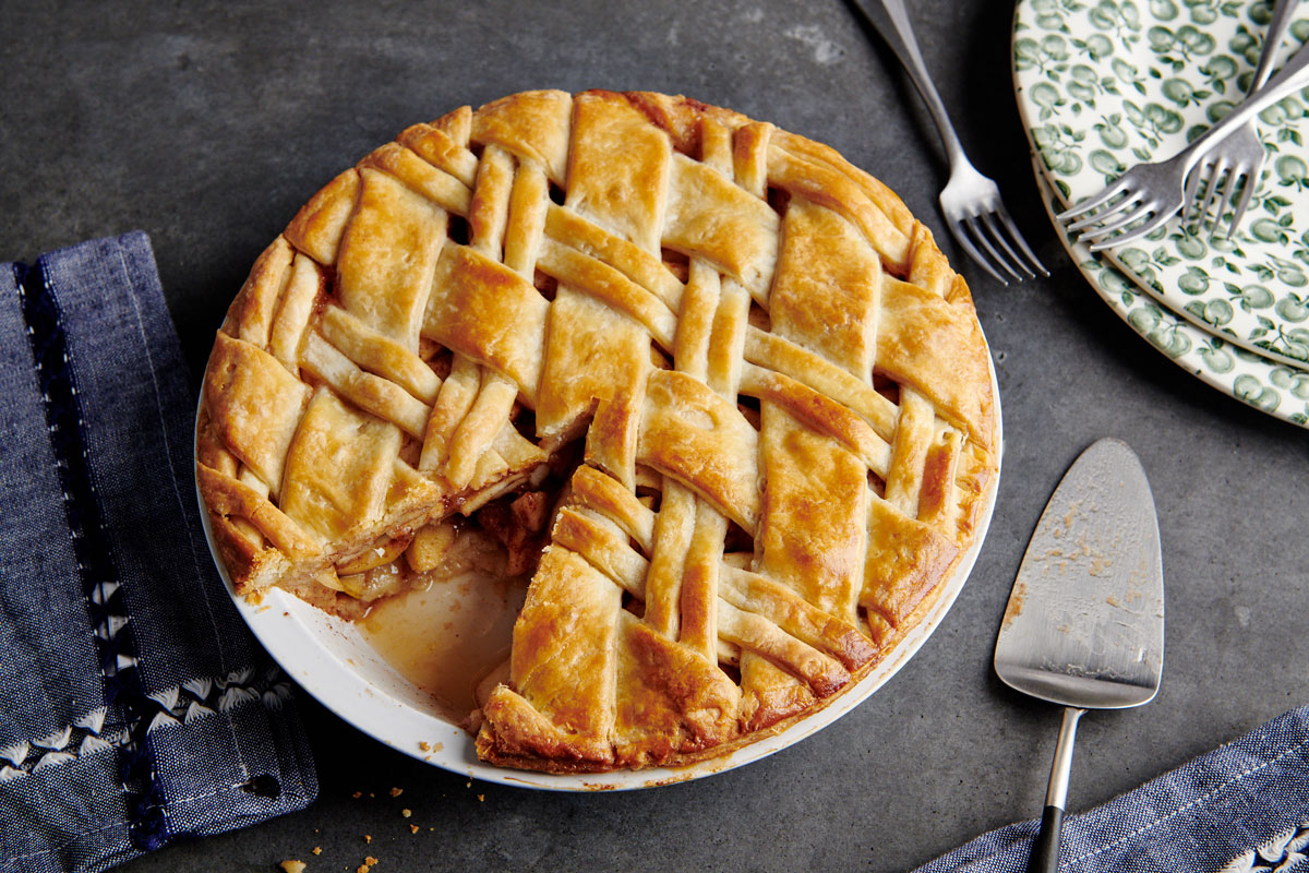 Brown Butter Apple and Pear Pie